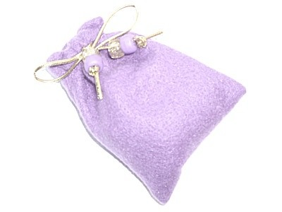 - Charm Bag Light Purple