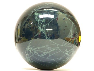 Black Obsidian Cobweb Sphere 130mm