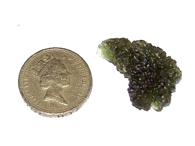 Moldavite Rough Chunk 5g (b)